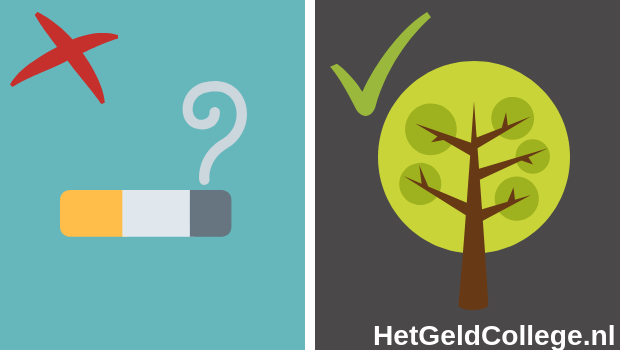 Niet investeren in tabak wel in duurzaamheid