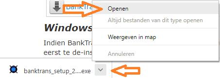 BankTrans Installeren